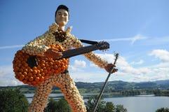 Elvis Presley Dyniowa rzeźba obrazy royalty free