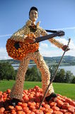Elvis Presley Dyniowa rzeźba obraz stock