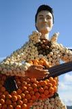 Elvis Presley Dyniowa rzeźba zdjęcie royalty free