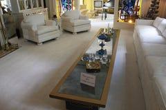 Elvis Presley Graceland. Elvis Presley living room at Graceland royalty free stock photo