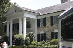 Elvis Presley Graceland Mansion Royalty-vrije Stock Afbeeldingen