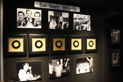 Elvis Presley Graceland Sun Years Collection Immagini Stock Libere da Diritti