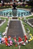 Elvis Presley grave Stock Image
