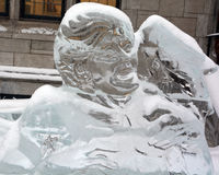 Elvis Presley Ice Sculptures Photos libres de droits