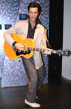 Elvis Presley na senhora Tussaud Imagem de Stock