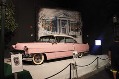 Elvis Presley Pink Cadilac Imágenes de archivo libres de regalías