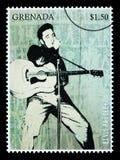 Elvis Presley Postage Stamp Royalty Free Stock Photos
