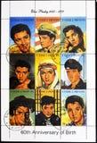 Elvis Presley - rock'n'rollsångare royaltyfria bilder