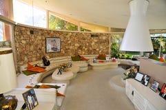 Elvis Presley-` s Flitterwochen-Haus, Palm Springs Stockfotografie