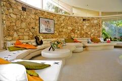 Elvis Presley ` s miesiąca miodowego dom, palm springs obrazy royalty free