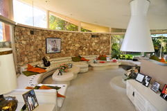 Elvis Presley ` s miesiąca miodowego dom, palm springs Fotografia Stock