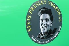 Elvis Presley Sticker Fotos de archivo