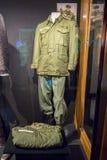 Elvis Presley US Army Uniform. On display at Graceland royalty free stock image