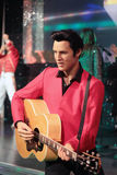 Elvis Presley. Wax statue at Madame Tussauds in London Stock Images