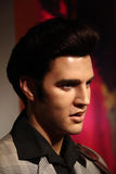Elvis presley. Wax statue at madame tussauds museum at hong kong. he was the marxist and political leader Stock Photography