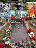 Elvis Presleys Grab, Graceland, Memphis TN lizenzfreie stockfotos