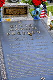 Elvis Presleys Grave-plaats in Graceland Royalty-vrije Stock Foto
