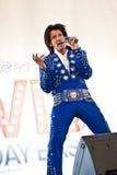 Elvis Przyjęcie Urodzinowe zdjęcia royalty free