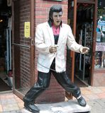 Elvis Rocks! Royalty Free Stock Image
