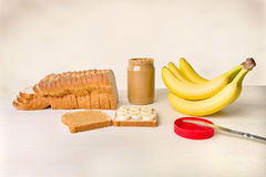 The Elvis Sandwich Stock Photography