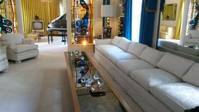 Elvis-Wohnzimmer Stockbilder