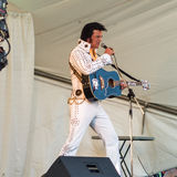 Elvisimpersonator Stock Afbeeldingen