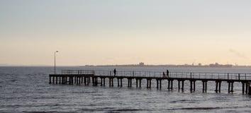 Elwood码头 免版税库存图片