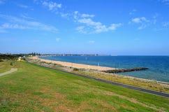 Elwood strand Fotografering för Bildbyråer
