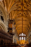 ELY, CAMBRIDGESHIRE/UK - 24 NOVEMBER: Binnenlandse mening van Ely Cath Royalty-vrije Stock Foto