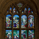 ELY CAMBRIDGESHIRE/UK - NOVEMBER 22: Inre sikt Ely Cathedr Arkivbild