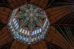 ELY, CAMBRIDGESHIRE/UK - NOVEMBER 22 : Interior view of Ely Cath Royalty Free Stock Images
