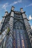 ELY, CAMBRIDGESHIRE/UK - NOVEMBER 22 : Octagonal tower at Ely Ca Royalty Free Stock Photography