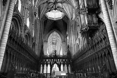 Ely Cathedral. Stunning Architecture and Ceiling within Ely Cathedral stock images