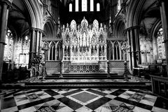 Ely Cathedral. Stunning Architecture within Ely Cathedral stock image