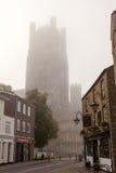 Ely Cathedral Cambridgeshire Royaltyfria Bilder