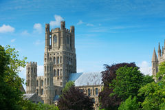 Ely cathedral Cambridgeshire England Stock Image