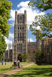 Ely Cathedral in Cambridgeshire Royalty Free Stock Images