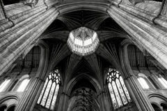 Ely Cathedral Ceiling Aspect Royalty-vrije Stock Fotografie
