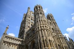 Ely Cathedral, Colossal, Church Stock Photos