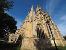Ely Cathedral en Ely photo stock
