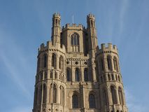 Ely Cathedral en Ely images libres de droits