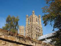 Ely Cathedral en Ely photos stock