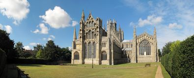 Ely cathedral, England Royalty Free Stock Photos