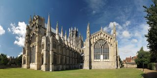 Ely cathedral, England Royalty Free Stock Image