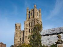 Ely Cathedral i Ely arkivbild