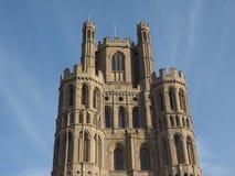 Ely Cathedral i Ely royaltyfria bilder