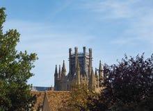 Ely Cathedral i Ely arkivfoto