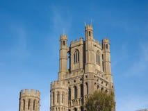 Ely Cathedral i Ely royaltyfri foto