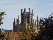 Ely Cathedral i Ely royaltyfria foton