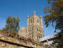 Ely Cathedral i Ely arkivfoton